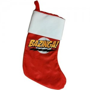 big bang theory christmas stocking