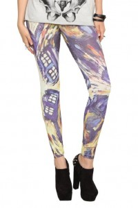 dr who leggings tardis
