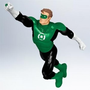 green lantern christmas ornament