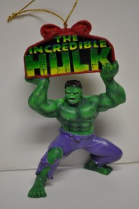 hulk christmas ornament