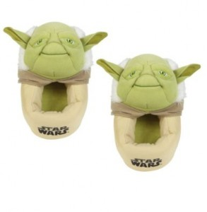 satr wars slippers yoda