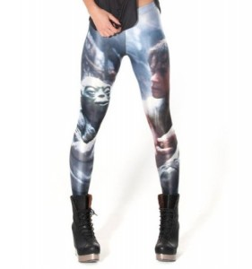 star wars leggings yoda