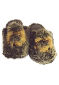 star wars slippers chewbacca