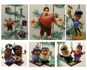 wreck it ralph christmas ornament