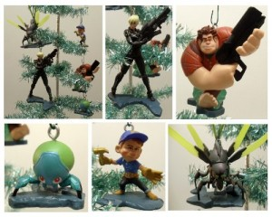 wreck it ralph ornament set