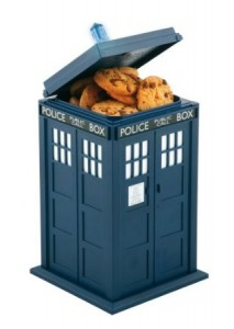 dr who cookie jar