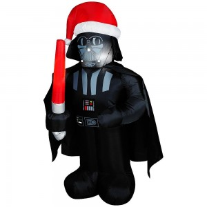star wars christmas inflatable darth vader