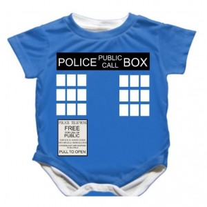 dr who baby bodysuit
