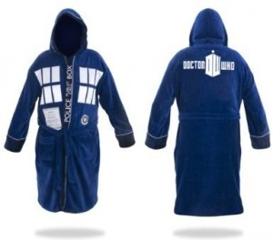 dr who bathrobe