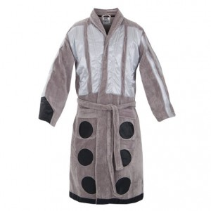 dr who bathrobe dalek