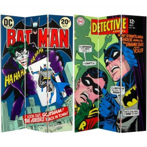 batman joker room divider