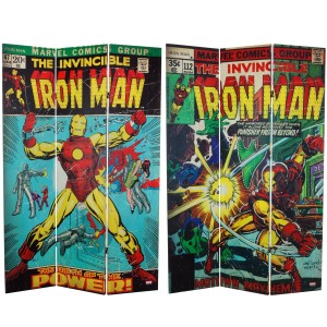 iron man room divider