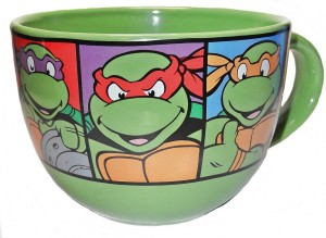 ninja turtles mug green