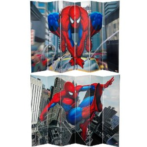 spiderman room divider cool
