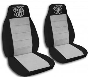 transformers car seat cover grey