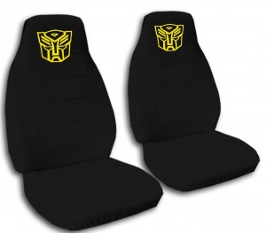 transformers car seat cover yellow