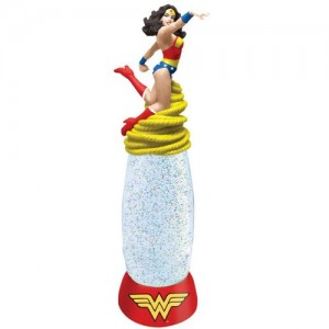 wonder woman globe lamp
