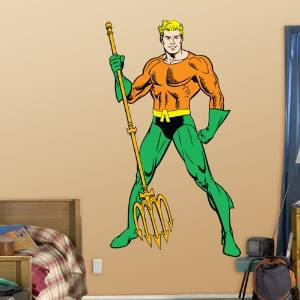aquaman wall decal