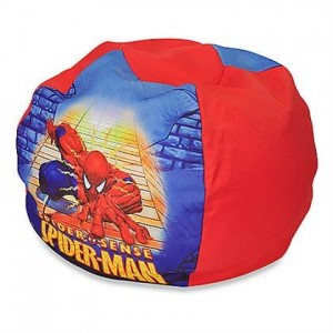 spiderman bean bag