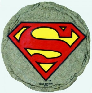 superman stepping stones