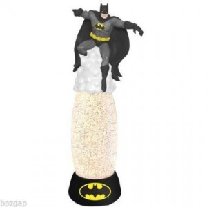 batman glitter lamp