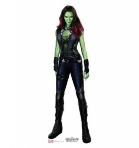 guardians of the galaxy cardboard cutout gamora