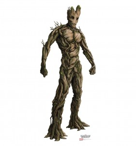 guardians of the galaxy cardboard cutout groot