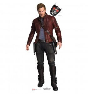 guardians of the galaxy cardboard cutout star lord