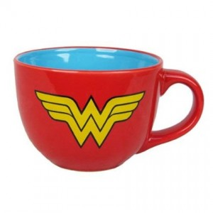 wonder woman soup mug