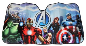 avengers car sunshade
