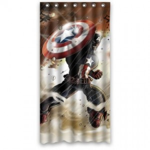 captain america shower curtain 4