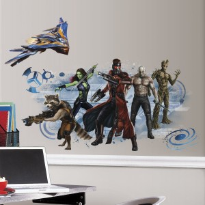 guardians galaxy wall decal