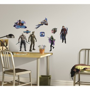guardians galaxy wall decals