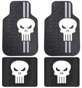 punisher car floor mats