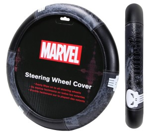 punisher steering wheel cover