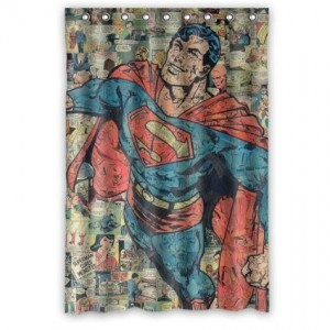 superman shower curtain 4