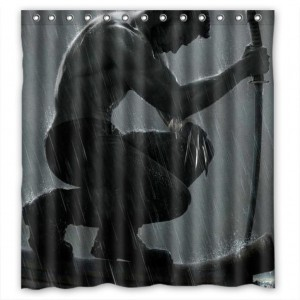 wolverine shower curtain 3