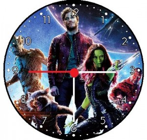 guardians galaxy clock