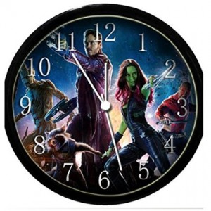 guardians of galaxy clock wall