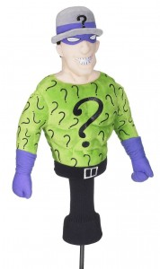 riddler golf head cover