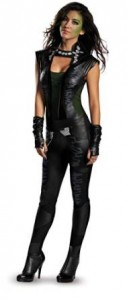 guardians galaxy costume gamora adult