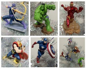 avengers christmas ornament