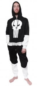 punisher union suit costume
