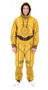 star wars union suit C-3PO