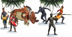 black panther ornament 2