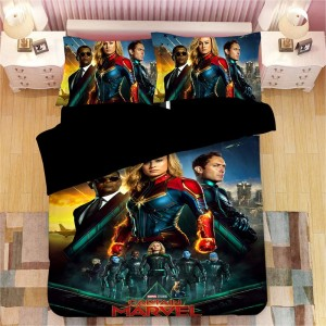 captain marvel bedding
