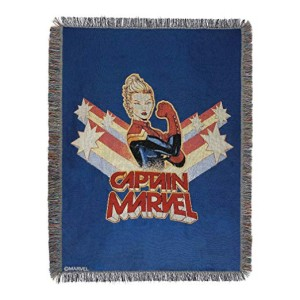 captain marvel blanket 2