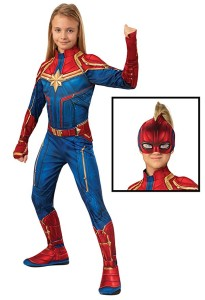 captain marvel costume red